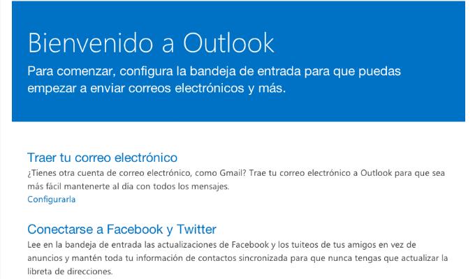 Outlook viene a reemplazar a Hotmail